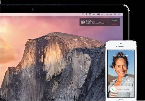 os x yosemite continuity 2 iOS 9 include il supporto per Continuity via rete cellulare