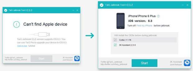 tutorial 3 en 0625 620x229 Come effettuare il jailbreak di iOS 8.X con TaiG