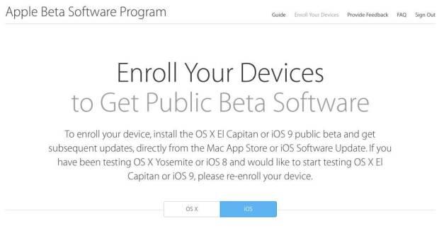 ios 9 os x el capitan 1024x533 620x323 Apple avvia il programma di beta pubbliche per iOS 9 ed OS X El Capitan