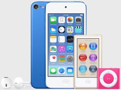 ipod new colors 620x462 Apple potrebbe essere pronta a svelare i nuovi iPod Touch, Nano e Shuffle la prossima settimana