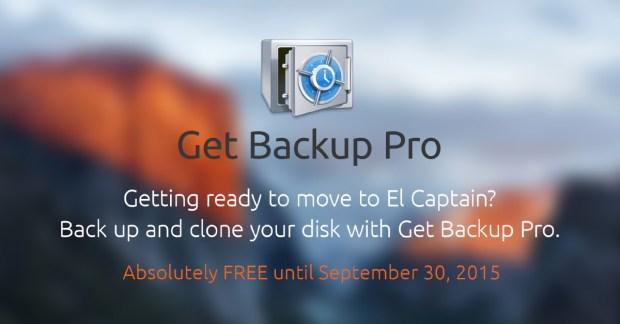 get backup pro 620x324 Belight Software Get Backup Pro: un Software di Clonazione disco per prepararsi a El Capitan