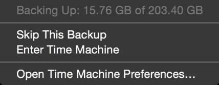 %name Come effettuare un backup con Time Machine
