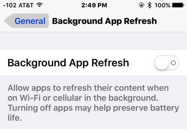 Come migliorare la performance di iOS 9