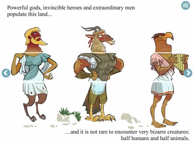 basileoimg 620x465 Basileo, eBook interattivo sul mito greco per bambini