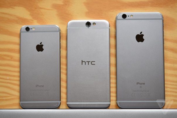 htconea9 HTC Presenta il One A9 copiando il design di iPhone