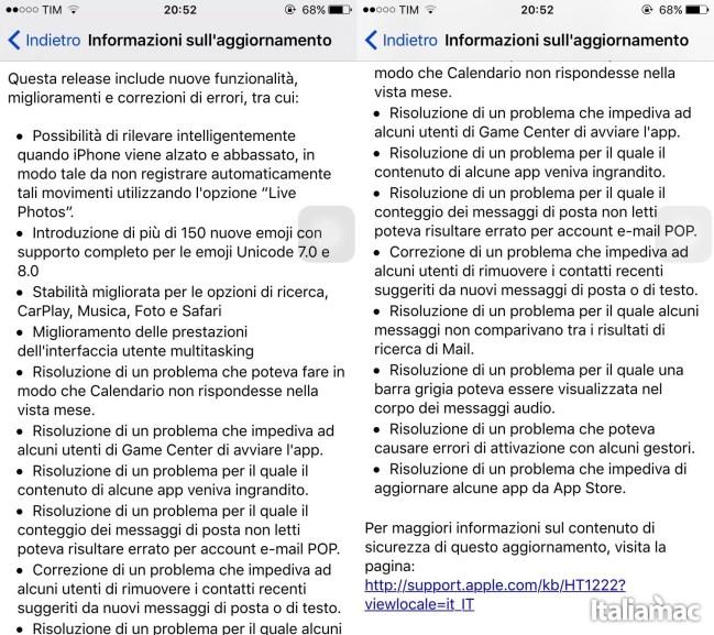 img 0761 Apple rilascia iOS 9.1 con 150 nuove emoji e molto altro