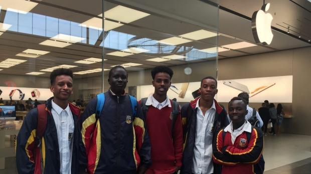 Apple black teens Australia
