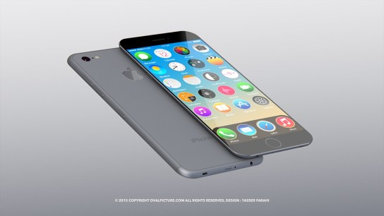 iphone 7 concept yasser farahi 001 Chip A10 con 3GB di RAM su iPhone 7 ?