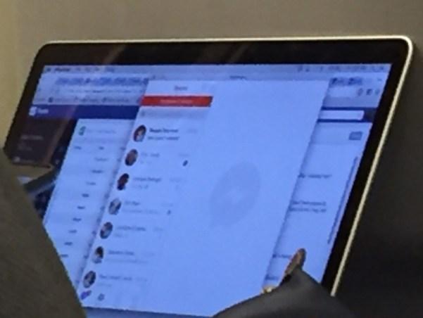 facebook messenger for mac Trapelate foto dellapp Facebook Messenger per Mac