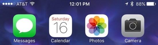 iphone battery percentage home Apple a lavoro per risolvere il blocco della percentuale batteria su iPhone 6s e 6s Plus