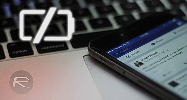 facebook battery drain Utilizzare Facebook tramite web browser può farvi risparmiare batteria