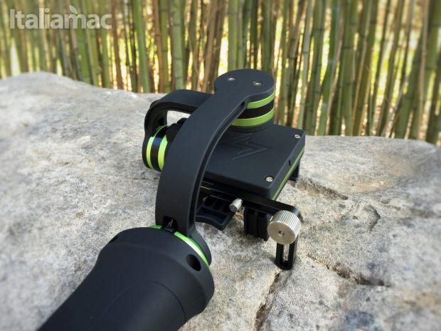 lanparte gimbal 2 Gimbal LanParte HHG 01: video perfettamente stabilizzati su iPhone e GoPro