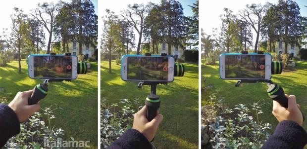 lanparte gimbal positions Gimbal LanParte HHG 01: video perfettamente stabilizzati su iPhone e GoPro