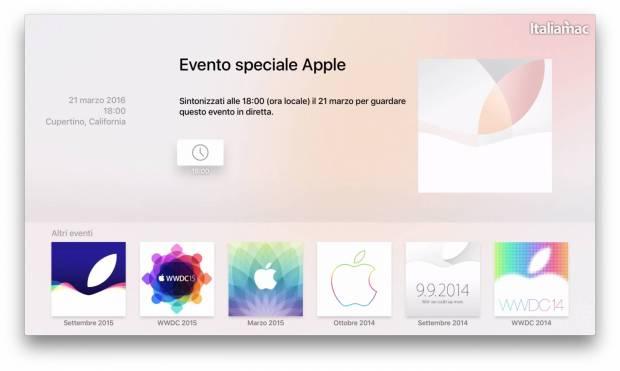 App Apple Events