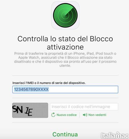blocco icloud Come controllare lo stato del blocco attivazione di iCloud su iPhone o iPad