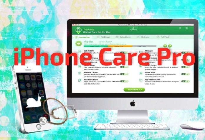 iphone care pro Tenorshare iPhone Care Pro: proteggi, ripara e velocizza il tuo iPhone
