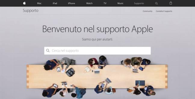 supporto apple Apple aggiorna la pagina del Supporto, nuova grafica e nuove impostazioni