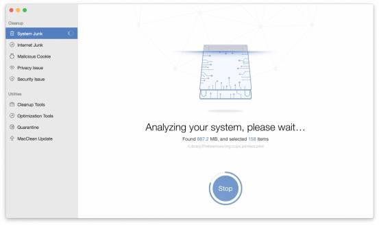 system junk macclean MacClean: Tieni pulito il tuo Mac con il tool 7 in 1