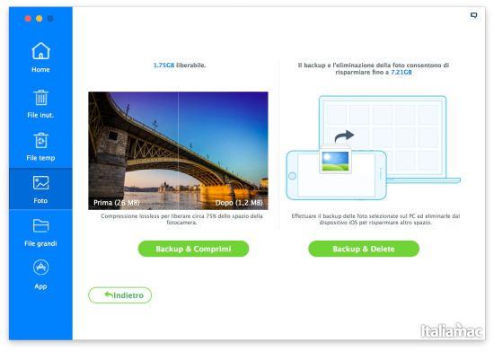 foto iMyfone Umate: Eliminare file inutili da iPhone con un click