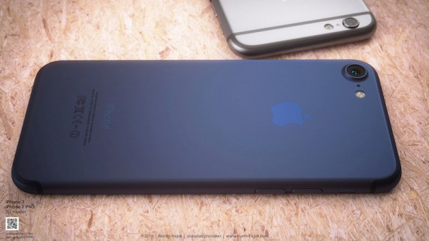 27557427601 89f309f48b b Nuovo concept mostra iPhone 7 in Deep Blu