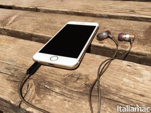 dodocool cuffie iphone Ascoltare la musica sarà un piacere con le cuffie in legno In Ear Dodocool