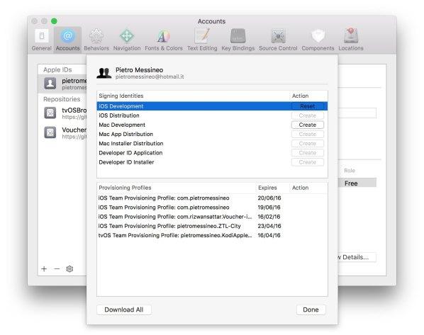 signing identity Esclusiva: Effettuare il jailbreak di iOS 9.3.3 su Mac