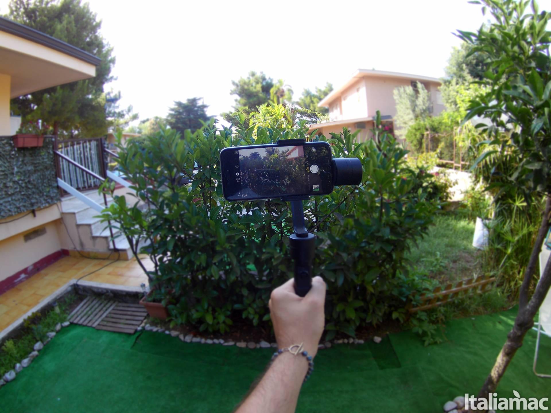 %name Gimbal Smooth II: video stabilizzati su iPhone