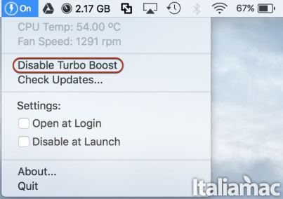 Turbo Boost Switcher Disable