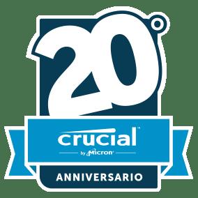 crucial 20th icon it 2x 20 anni di Crucial, si festeggia con gli sconti sulle memorie per tre giorni