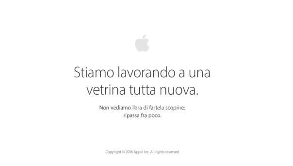 Apple Online Store Down 2016 7 Settembre