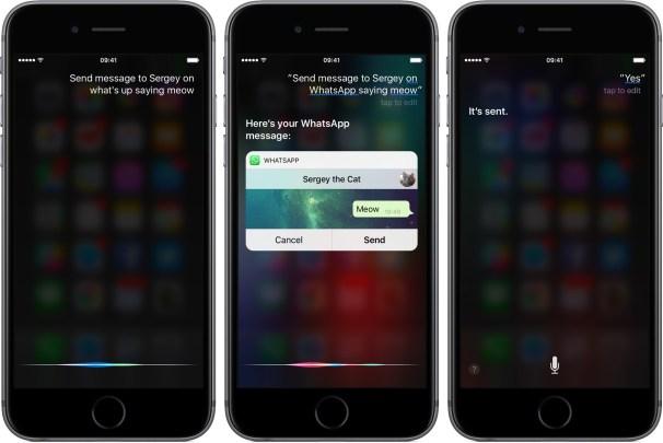 whatsapp 2.16 for ios siri integration iphone screenshot 001 Whatsapp si aggiorna, arriva il supporto ad iOS 10, la possibilità di rispondere alle chiamate dalla schermata di blocco e molto altro