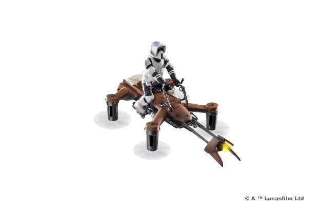 1. 74 z speeder bike propel battle drones star wars 620x413 I droni originali di Star Wars in Italia: Propel Battle Drones (Gallery)