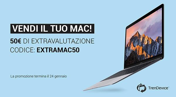 trendevice extravalutazione mac Vendi il tuo Mac su TrenDevice: extravalutazione di 50 euro.