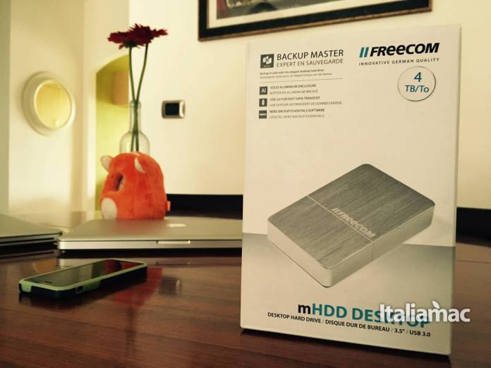 Freecom mHDD Desktop box