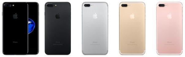 iphone 7 plus colors 800x247 iPhone 7 Plus è il modello tra i Plus più popolare