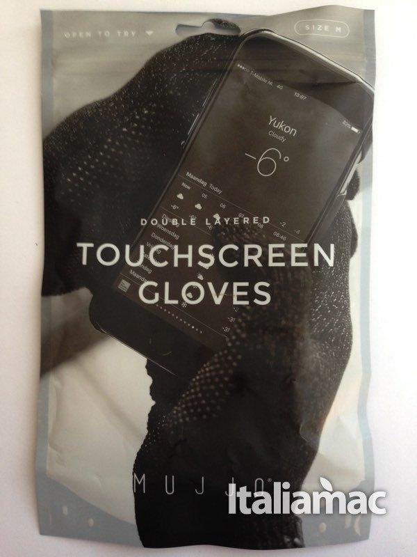 mujjo conf fronte Mujjo Double Layer: guanti doppio strato completamente touch