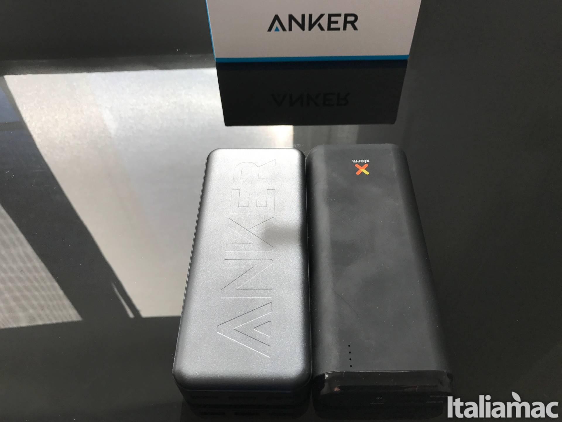 %name PowerCore 20000: Il powerbank con 3 porte USB in grado di caricare anche MacBook