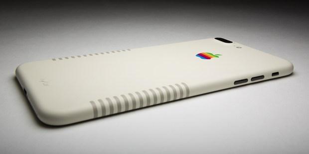 1 iPhone 7 Plus che assomiglia ad un vecchio Machintosh grazie a Colorware