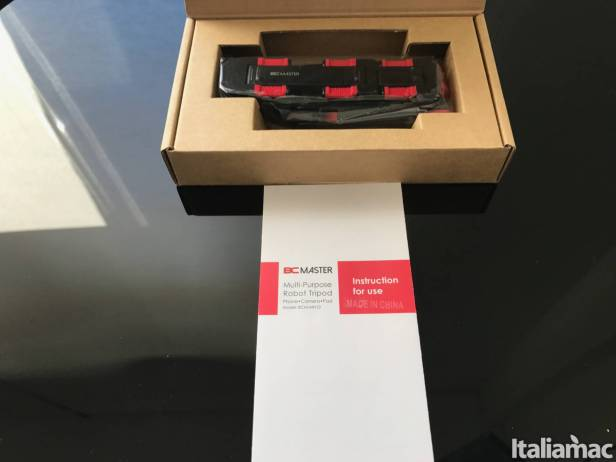 %name Robot Tripod: Il treppiedi snodabile di BC Master per smartphone e tablet