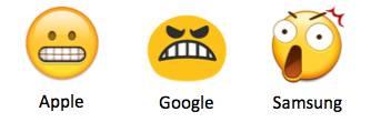 e grimacing In arrivo 69 nuove emoji con Unicode 10
