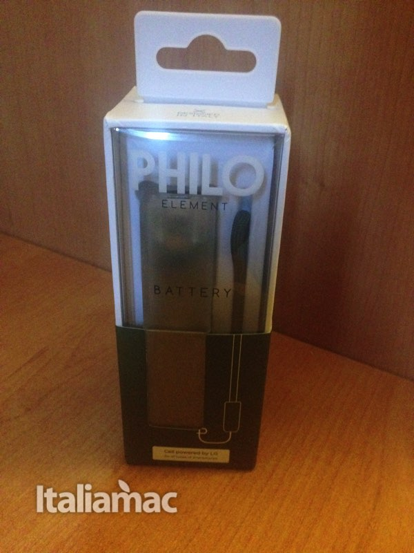 Philo battery 1 Power bank by Philo, chi ha detto che le batterie esterne non possano essere colorate?