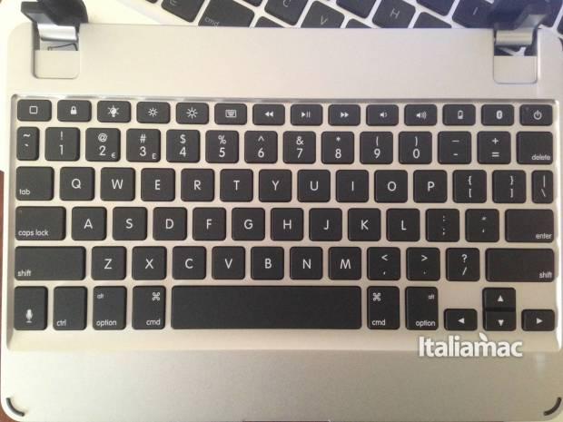 brydge layout 620x465 Brydge lancia la tastiera bluetooth per iPad Pro 9,7 e iPad Air