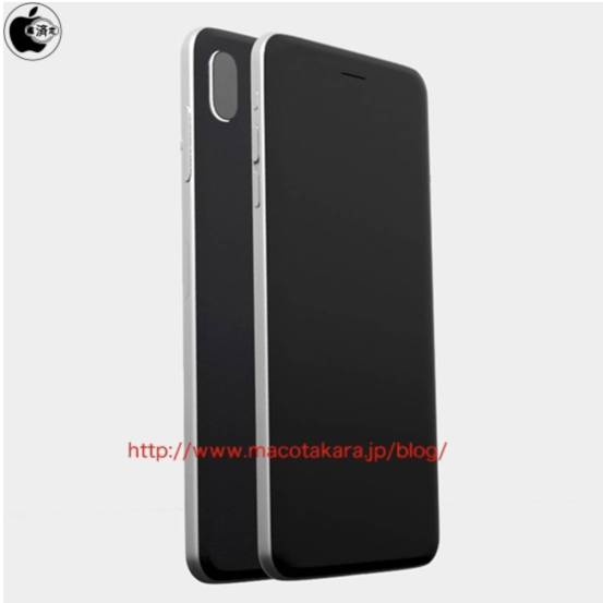 iphone 8 1 1104x1104 iPhone Edition sarà dotato di camera verticale e frame in acciaio inossidabile?