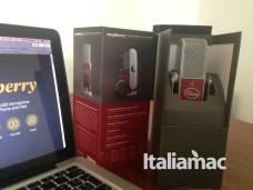 %name Raspberry, il microfono di Blue Microphones per Macbook e iPhone