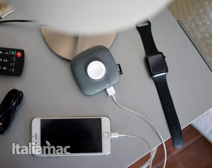www.italiamac.it powerbank apple watch xtorm6 Xtorm XPD17 Apple Watch Charger Boost: Un powerbank magnetico per Apple Watch e iPhone