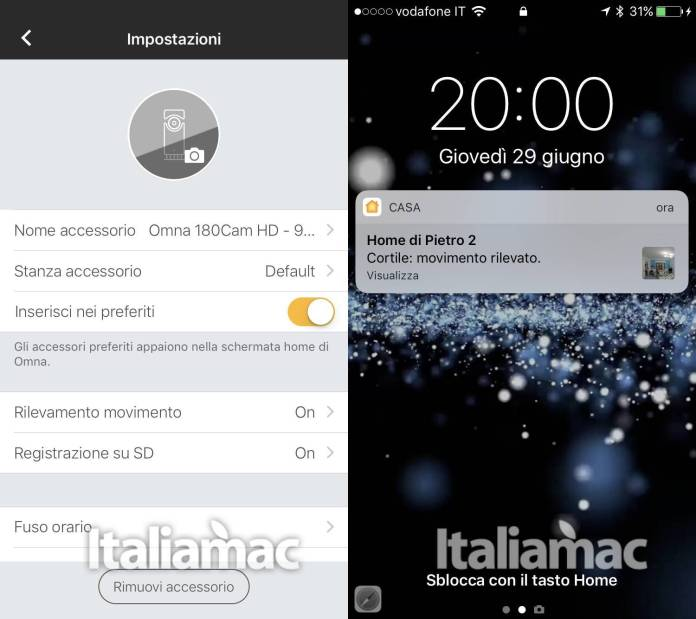 www.italiamac.it www.italiamac.it d link omna screenshot app D Link Omna: Telecamera di video sorveglianza compatibile con HomeKit