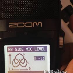 Zoom h2n settaggio microfono
