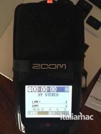 %name Zoom presenta H2n il microfono compatibile con OsX: la prova di Italiamac