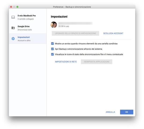 www.italiamac.it www.italiamac.it google backup e sincronizzazione tool 3 Google rilascia Backup e Sincronizzazione per eseguire i backup dei file su Mac e Windows