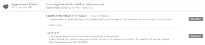 www.italiamac.it rilasciato macos high sierra 10 13 1 www.italiamac.it rilasciato macos high sierra 10 13 1 schermata 2017 10 31 alle 19.23.48 Rilasciato macOS High Sierra 10.13.1